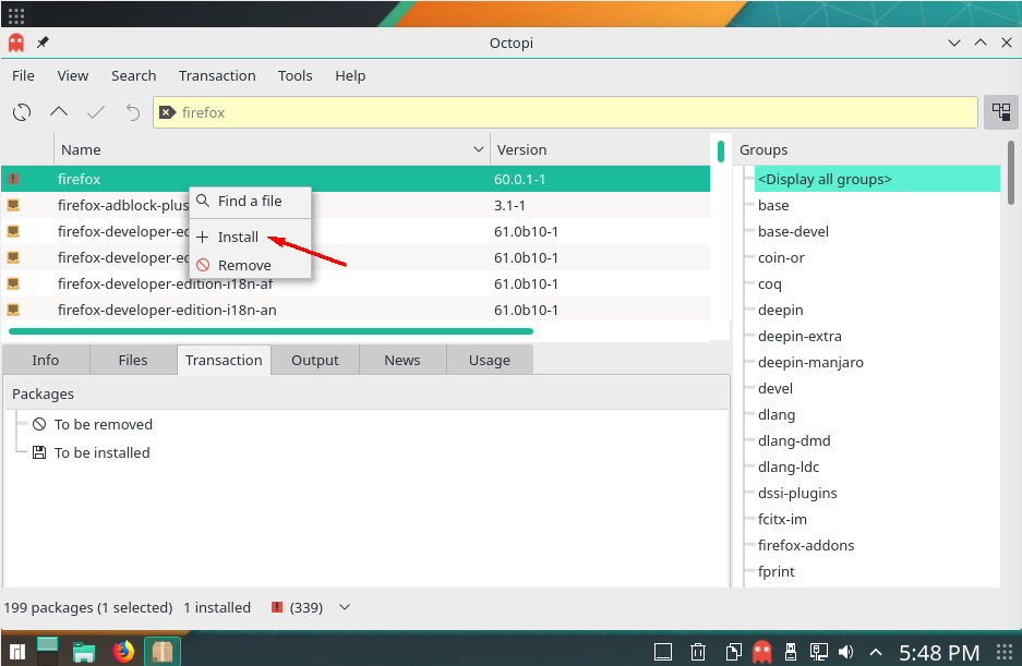 , How to Install and Uninstall Softwares via Octopi on Manjaro Linux, New Blog Hosting