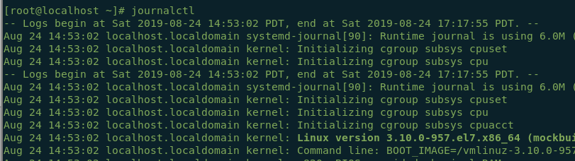 , How to Analyze Systemd Journal Entry in Linux, New Blog Hosting