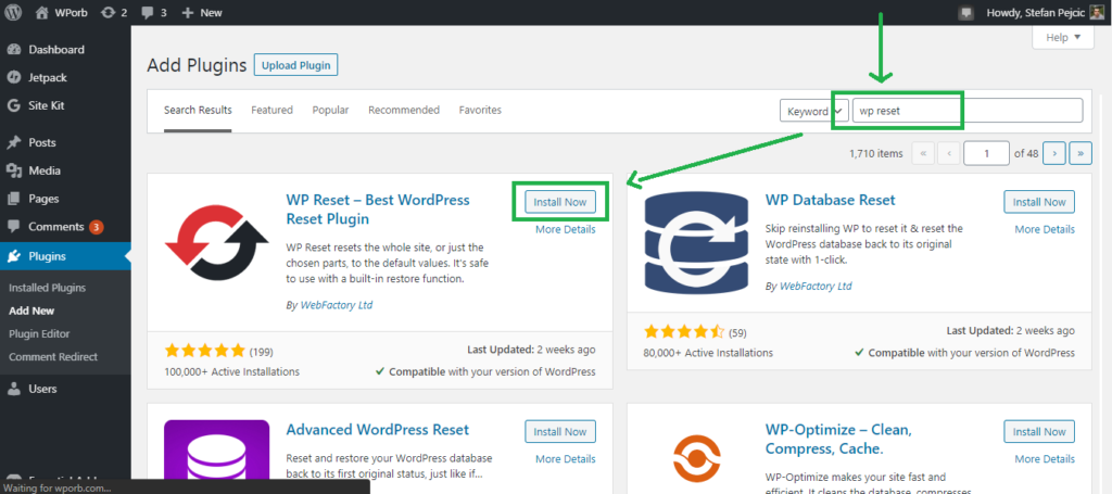 How to Reset WordPress, ✔️ How to Reset WordPress Install, New Blog Hosting